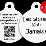Médaille anti fugue